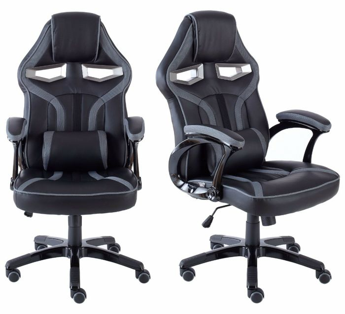 Executive Gaming / Office Chair With Lumbar Support 5 Colours - £72.24 Delivered