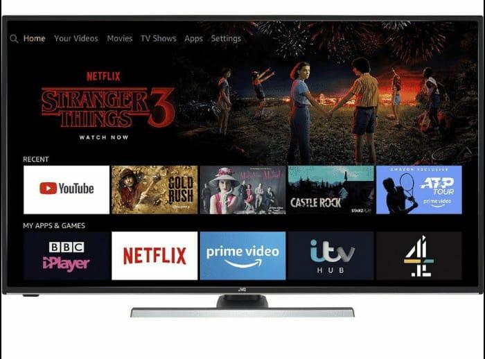 "JVC Fire TV Edition 50"" Smart LED TV 4K Ultra HD Amazon Alexa - Only £329!"