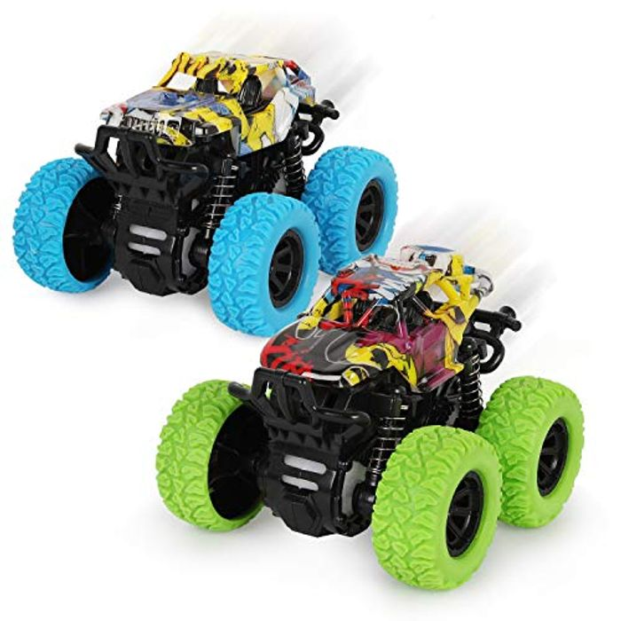 2 Pack Monster Truck Toys - Only £4!