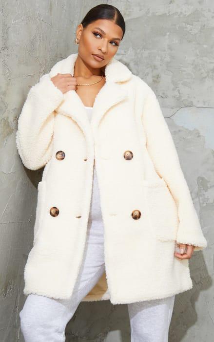 36% off This Teddy Bear Coat at PLT