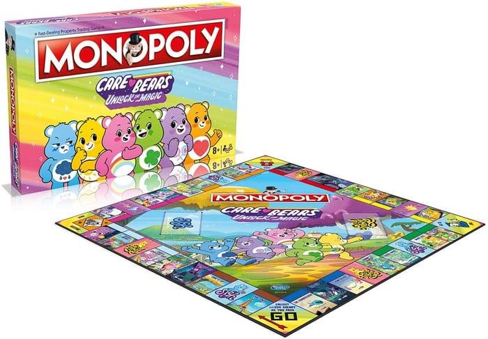 AMAZON PRICE DROP! Care Bears Monopoly Board Game
