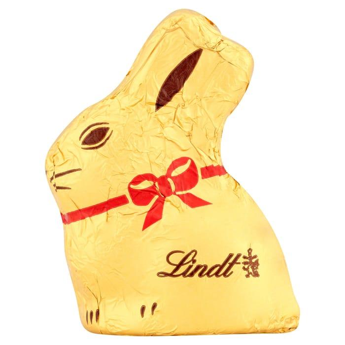 3 X Lindt Gold Bunny Milk Chocolate 10G