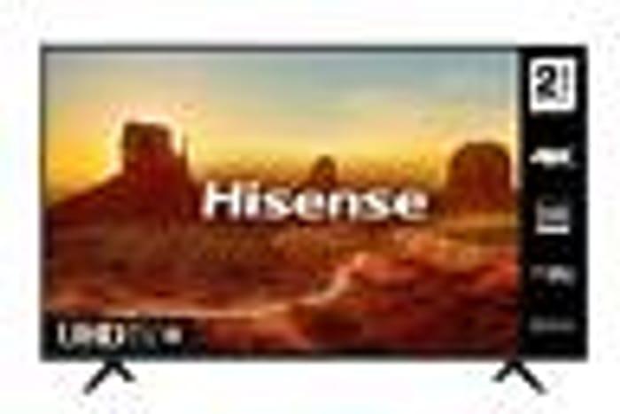 "Hisense 50A7100FTUK 50"" 4K Ultra HD HDR Smart TV - Only £296.65!"