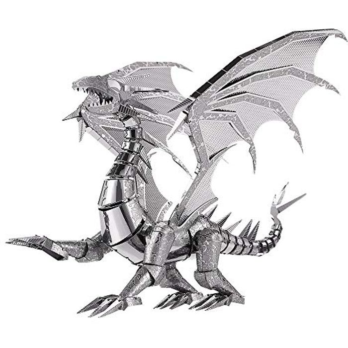 3D Metal Model Kit for Adults- Dragon Flame