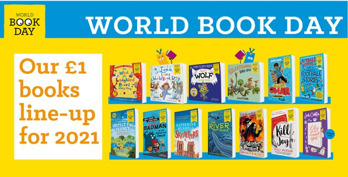CHEAP! World Book Day 2021 Children's Books - £1 Each at Amazon - AVAILABLE NOW!