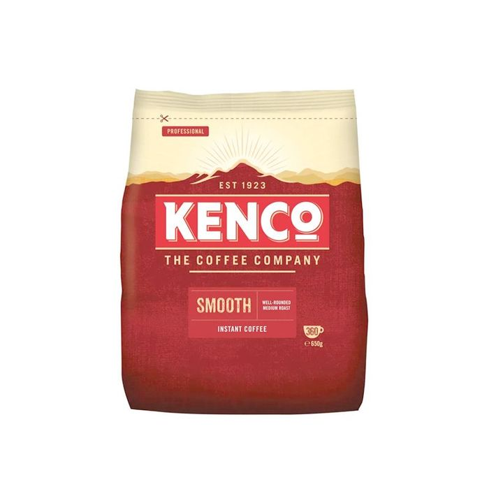 Kenco Smooth Instant Coffee 650g Refill Bag