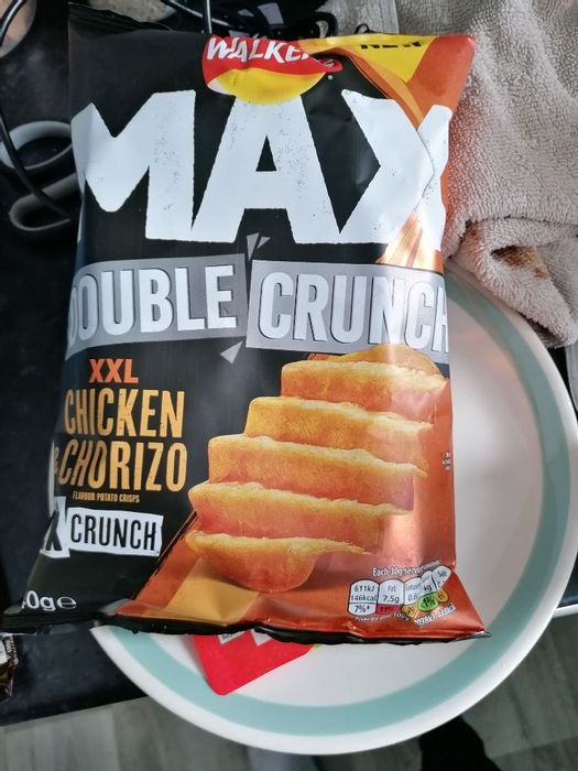 Walkers Double Max Chicken and Chorizo Crisps 2 for £1