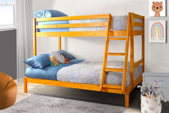 Get a Durban Wooden Triple Bunk Bed.