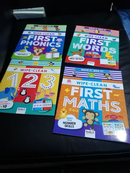 Wipe Clean First Books - Various Ones