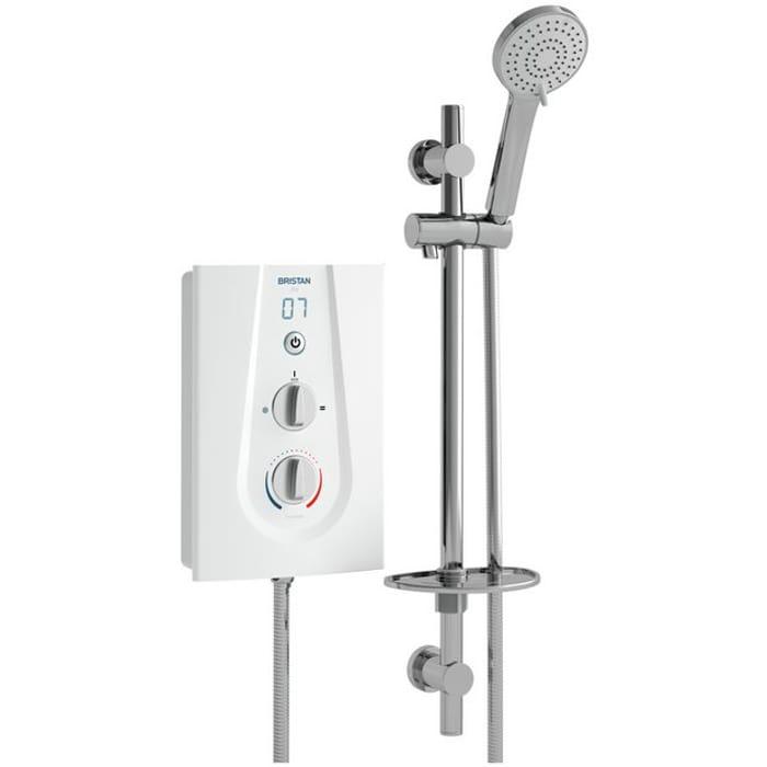 Bristan Joy 9.5kW Electric Shower - White