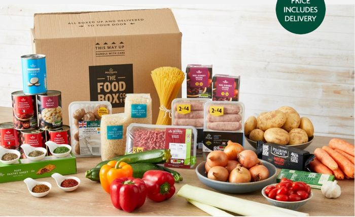 Get £5 Off Morrisons Food Boxes / Flower / Alcohol Boxes