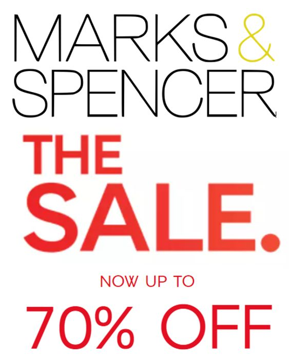 M&S SALE - FURTHER REDUCTIONS - UP TO 70% OFF NOW!