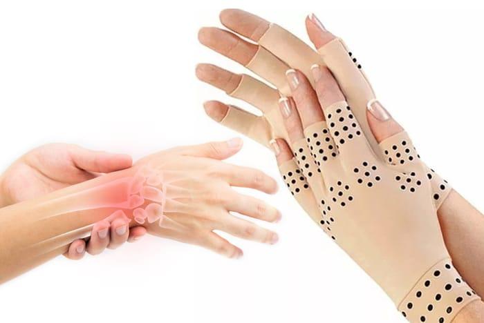 Fingerless Magnetic Arthritis Gloves