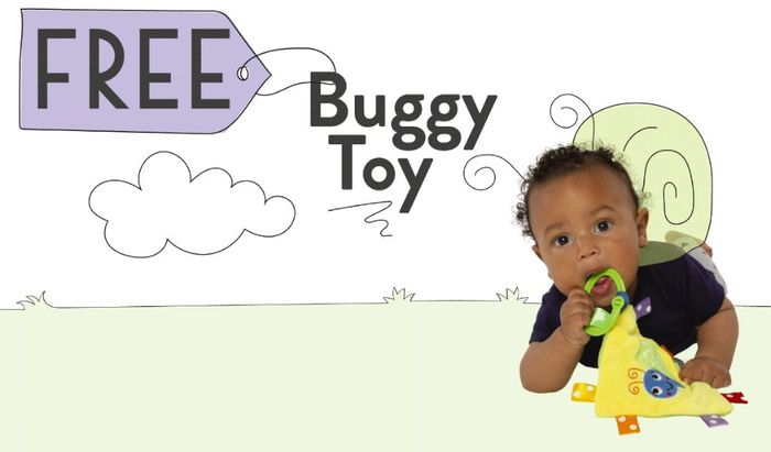 Free Buggy Toy from Little Fawn Box