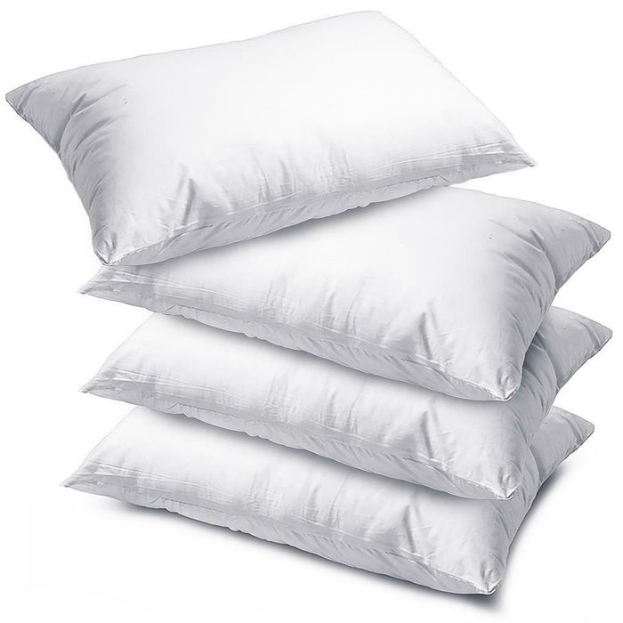 4 X Luxury Super Bounce Back Pillows - £13.75 Delivered