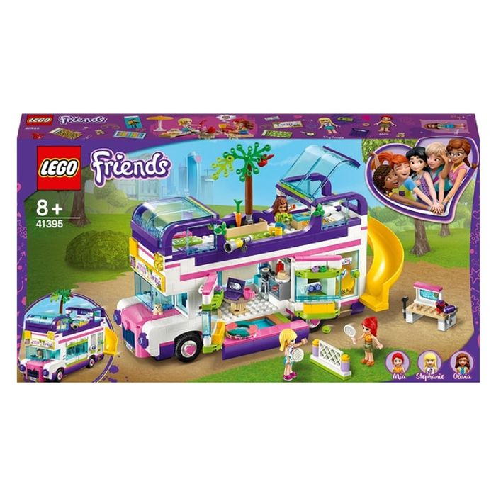 LEGO 41395 Friends Friendship Bus Toy with Swim Pool