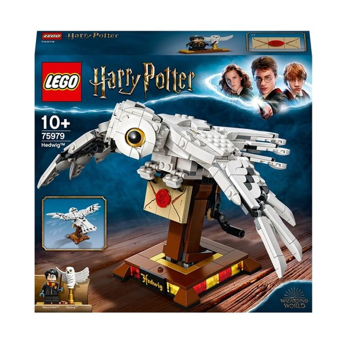 LEGO 75979 Harry Potter Hedwig Display Model with Moving Wings