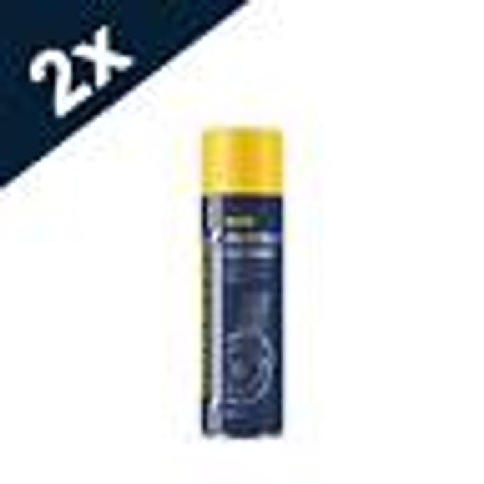 4x500ml MANNOL Montage Brake Cleaner Aerosol Spray Professional Degreaser