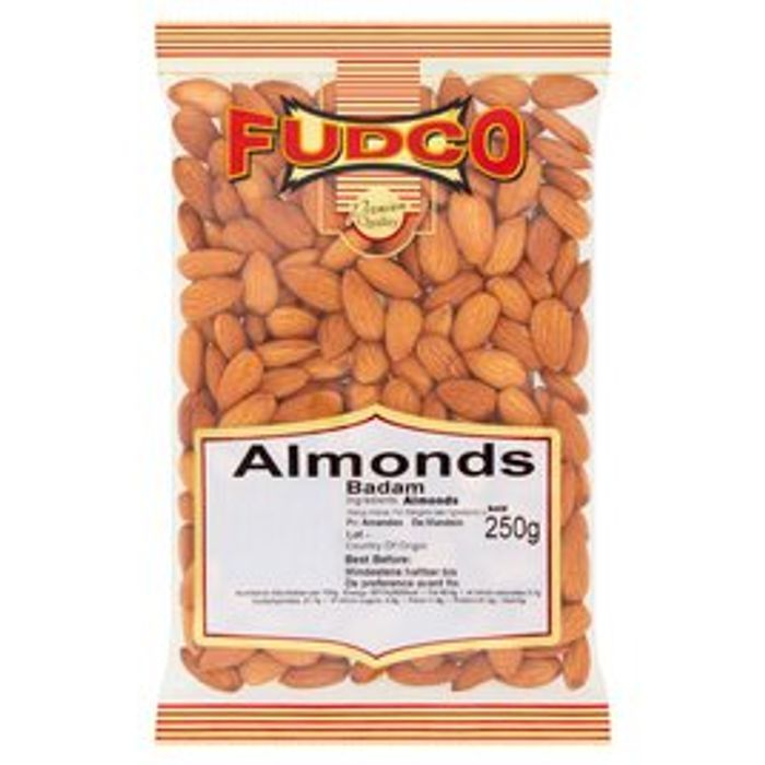 Fudco Almonds 50%off at Morrisons