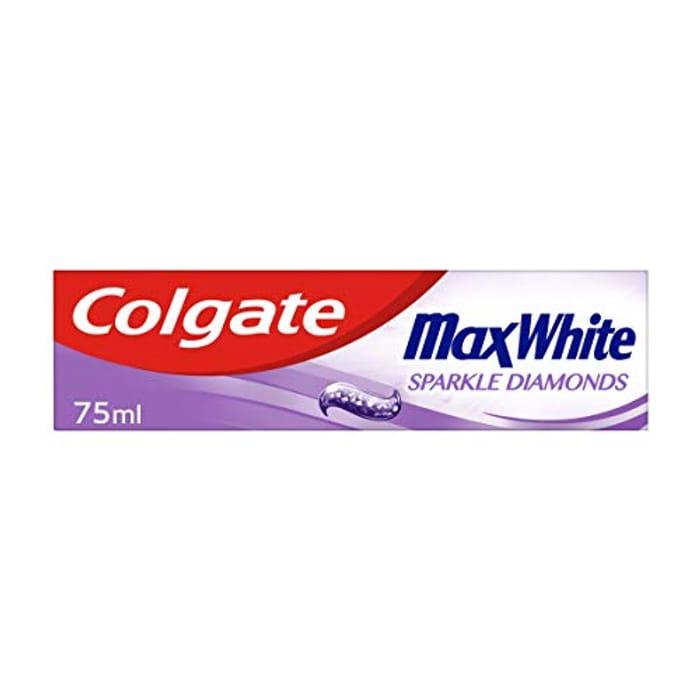 Colgate Max White Sparkle Diamonds Toothpaste 75ml