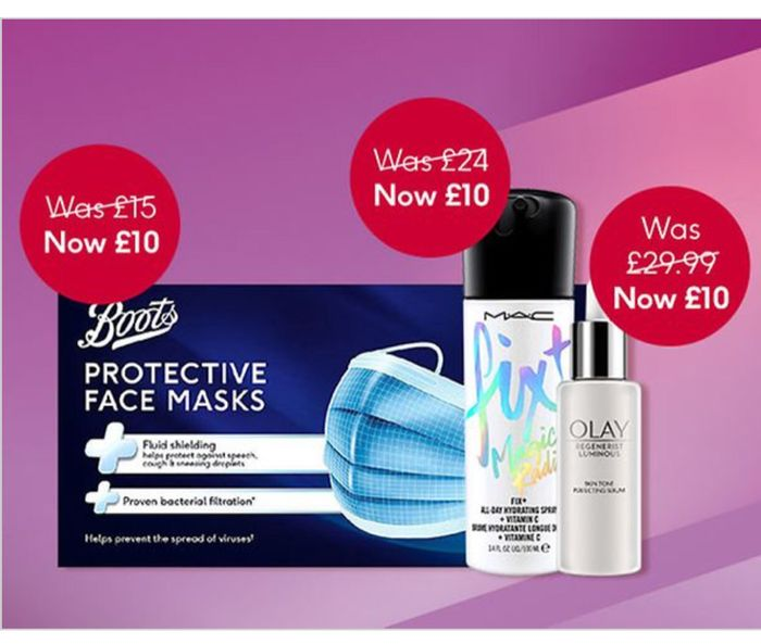 Boots £10 Tuesday Offer