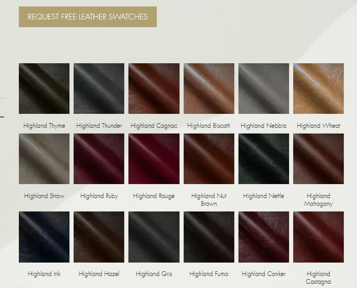 Free Leather Samples from Futura-Leathers