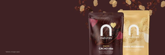 A Free Naturya Cacao Nibs & Mulberries Bundle worth £9 (Pay P&P)