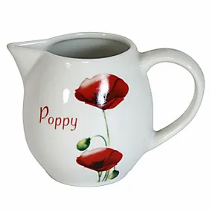 Poppy Creamer Jug - Only £1.37!