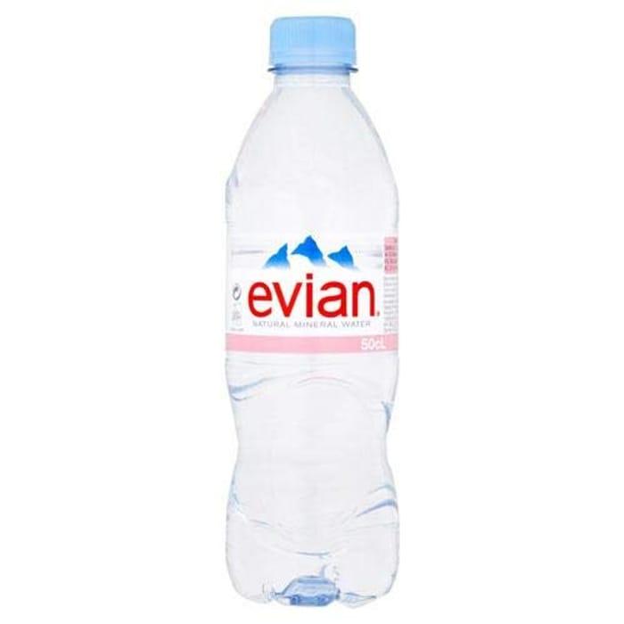 Evian | Mineral Water | 24 X 500Ml
