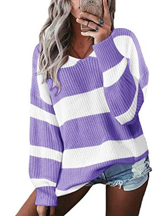 YOINS Women Color Block Jumpers