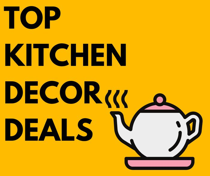 Top Kitchen Decor Deals from £1.75