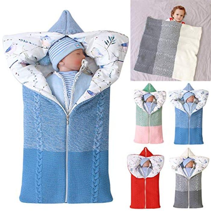Price Drop! Baby Knit Sleeping Bag