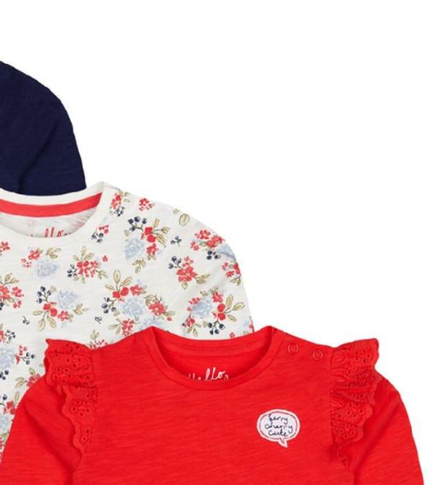 Flower Garden T-Shirts - 3 Pack