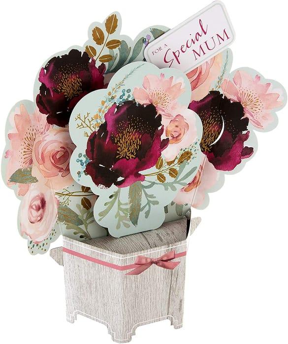 Hallmark Mother's Day Card - Pop-up 3D Bouquet Design