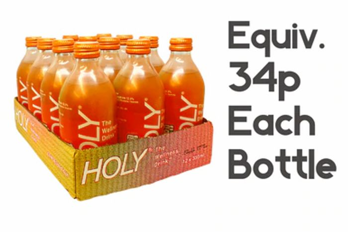 Only 34p a Bottle HOLY WELNESS