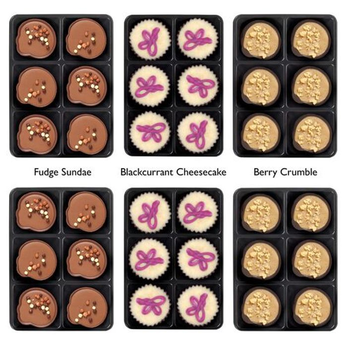 Hotel Chocolat Patisserie Selectors X6!