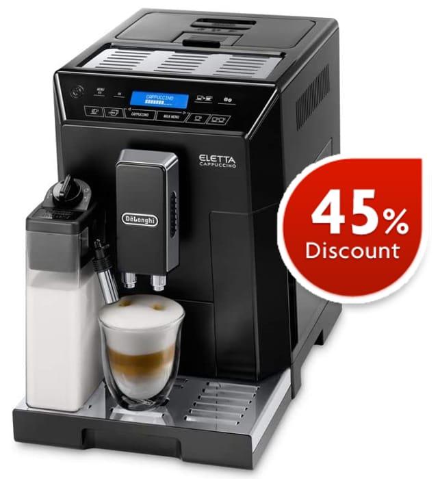 De'Longhi Eletta, Fully Automatic Bean to Cup Coffee Machine