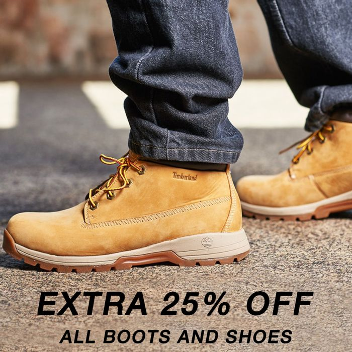 Big Brand Leather Boots & Shoes Up To 70% Off + 25% Code & Free Delivery!