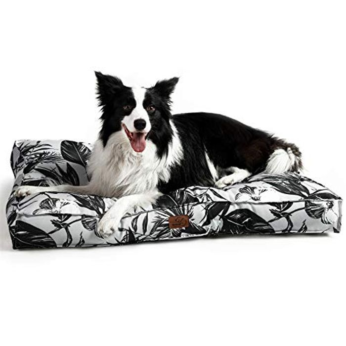 Water- Resistant & Washable Dog Mattress - Only £12.99!