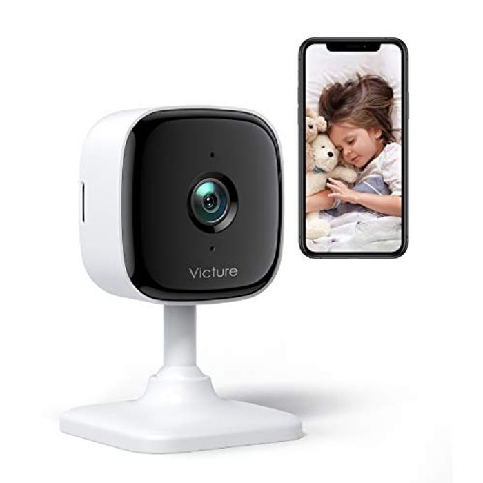 1080P Baby Monitor with 2-Way Audio + Sound and Motion Detection