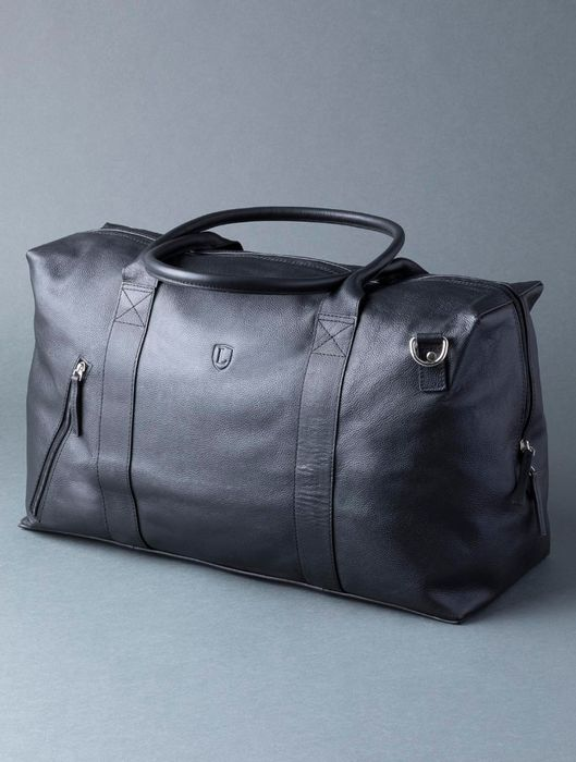 Classic Lakeland Leather - Holdall in Black