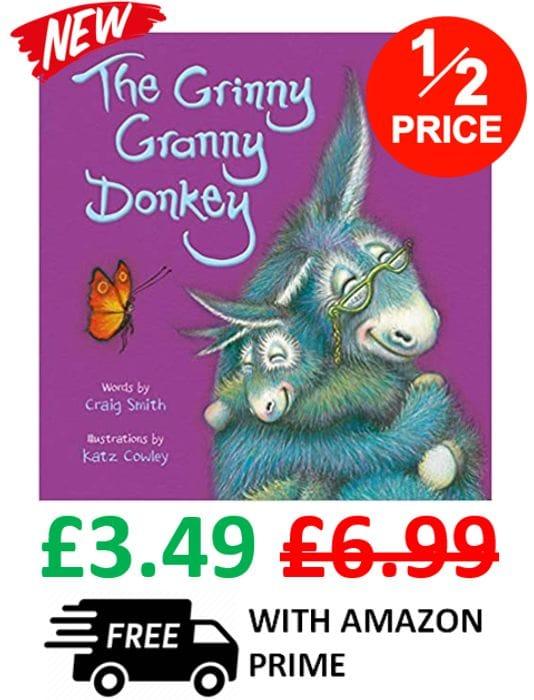 Best Price! The Grinny Granny Donkey (Wonky Donkey Book 3)