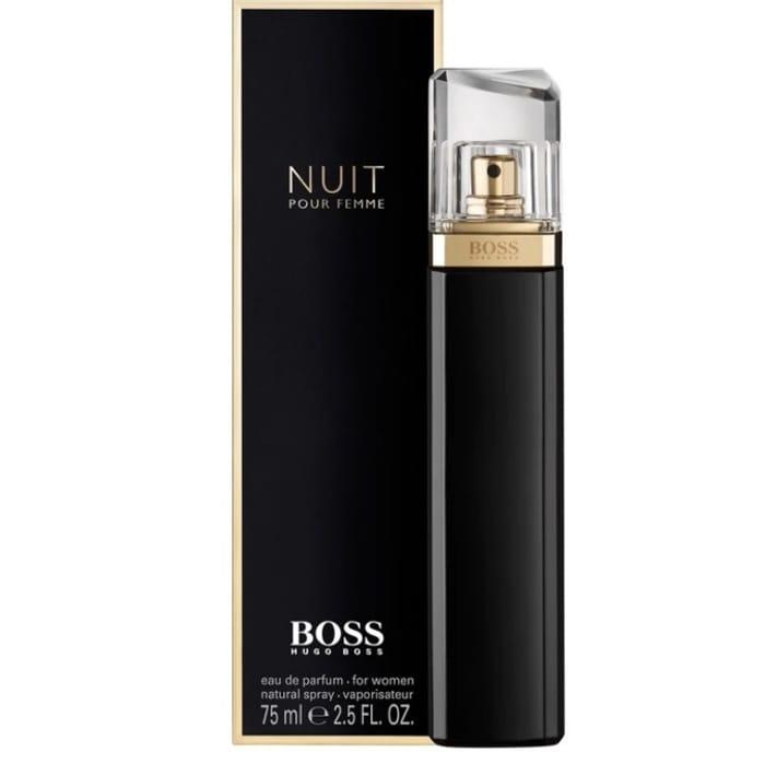 Hugo Boss Nuit Pour Femme Eau De Parfum Spray 75ml
