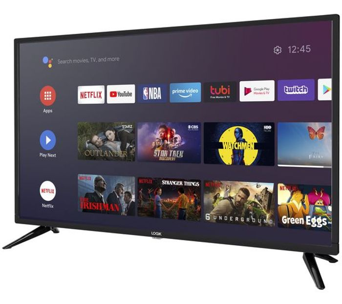 "*SAVE over £40* LOGIK Android Smart TV 32"" HD Ready LED TV with Google Assistant"
