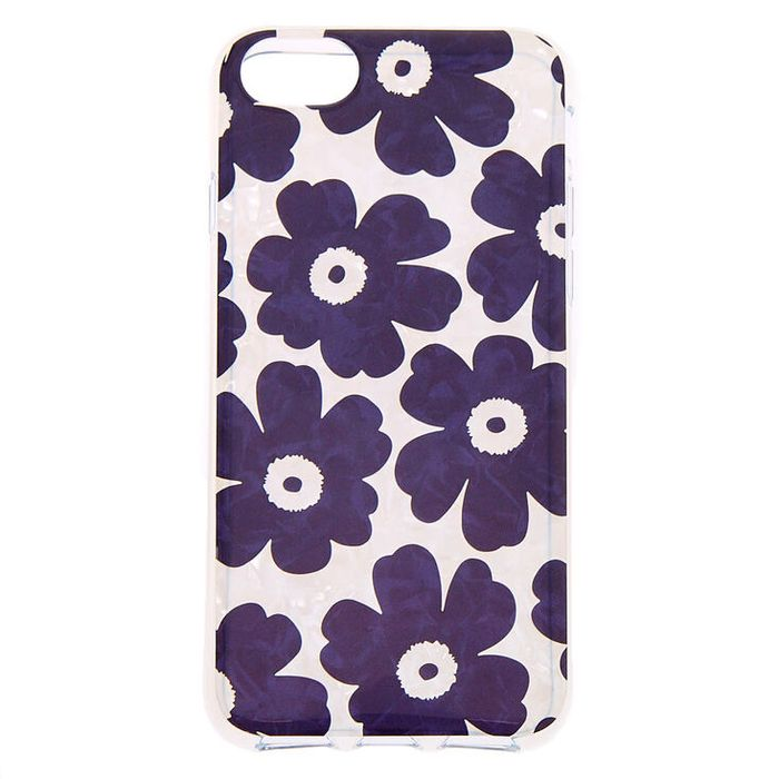 Best Price! Retro Flower Protective Phone Case - Fits iPhone 6/7/8/SE