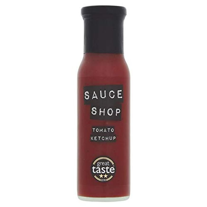 Sauce Shop Tomato Ketchup, Perfect for Chips, Burgers and Pizza