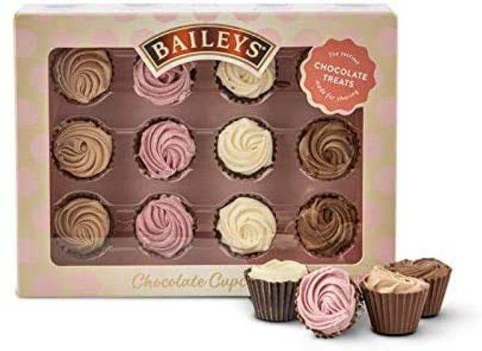 Baileys Chocolate Mini Cupcakes.
