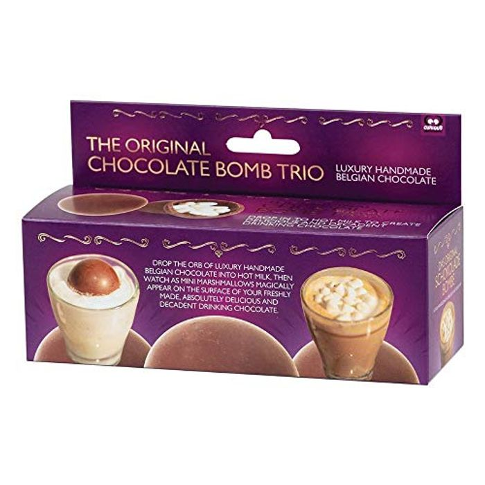The Original Chocolate Bomb Trio Funtime Gifts, 138 G
