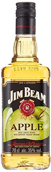 Jim Beam Apple Bourbon Whiskey Liqueur, 70 Cl