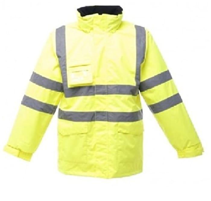 Regatta Mens HI VIS Waterproof Breathable Shell Jacket 4XL ONLY